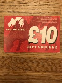 Red Cow Music Gift Voucher £10