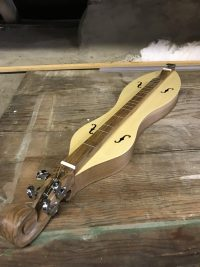 Appalachian Dulcimer-Knotwork-Walnut