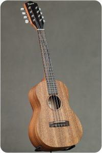 Pono AT-8 All Solid Acacia 8-String Tenor Ukulele