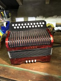 Hohner Erica D/G Melodeon-Used
