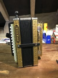 Hohner 4 Stop Melodeon in C